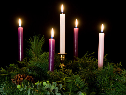 December 24 Christ Candle Luke 2 1 16