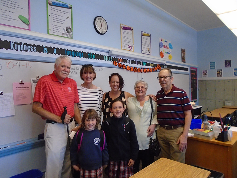 McNichol Family – three generations of SR. students/alumni