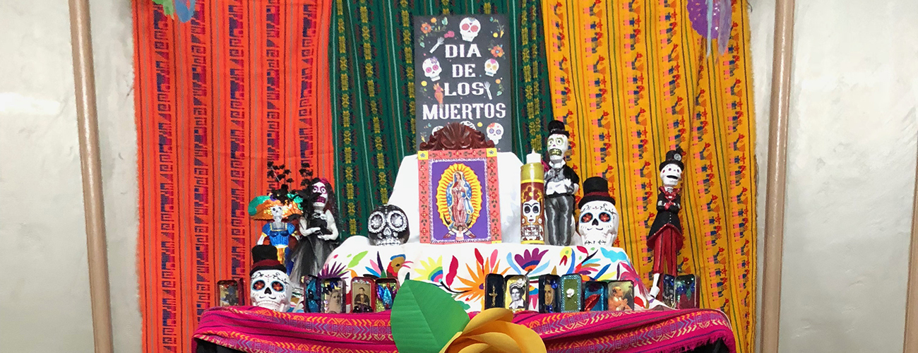 Celebrating Dia de los Muertos at OLMC
