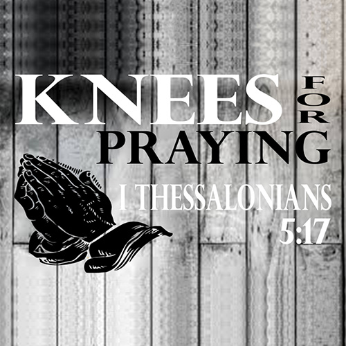 Knees For Praying