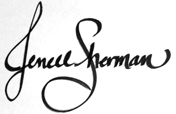 Sign of Jenell Sherman
