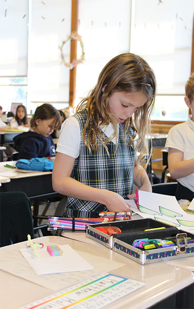 Second Grade - St  Pius School, Redwood City, CA