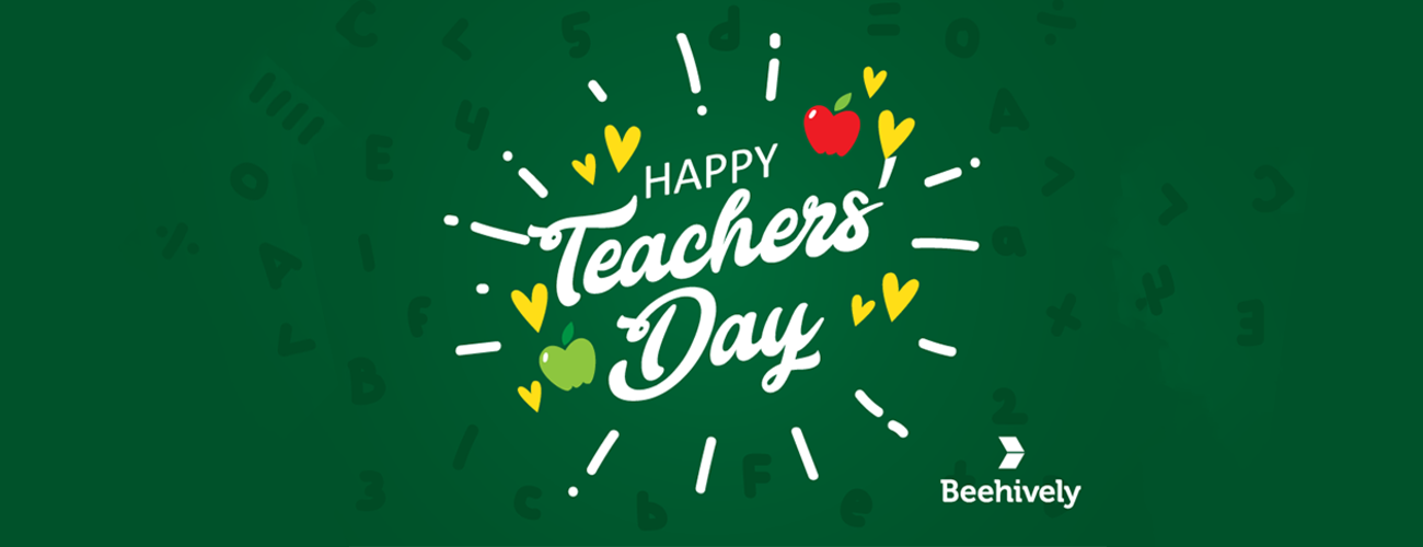 Happy World Teacher's Day!