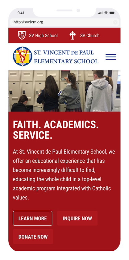 Saint Vincent De Paul Elementary School
