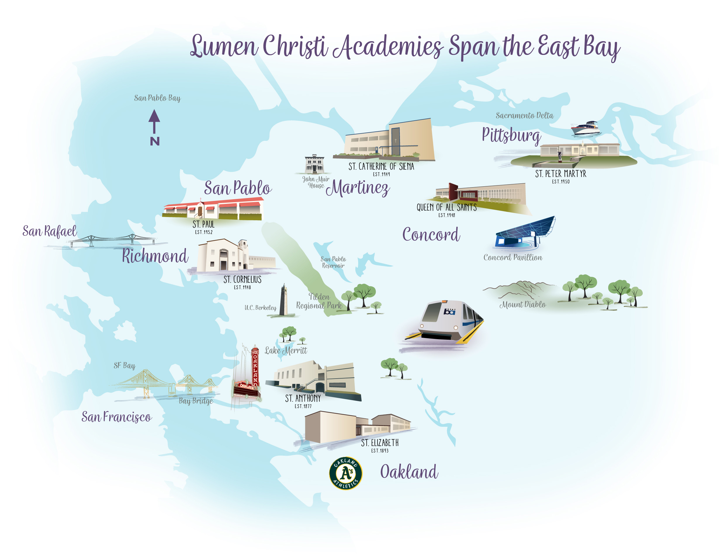 Lumen Christi Academies Span the East Bay