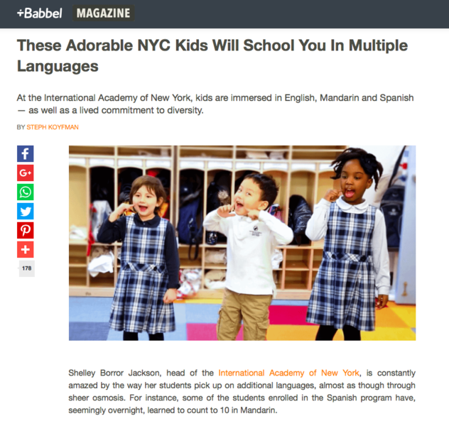 0 image for These Adorable NYC Kids Will School You In Multiple Languages