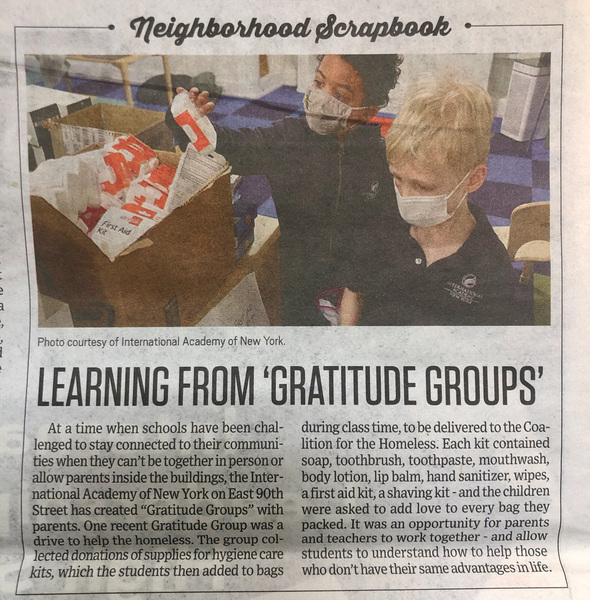 0 image for Gratitude Group Makes the Local Press