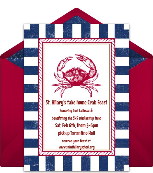 Saint Hilary's First-Ever Take-Home Crab Feast