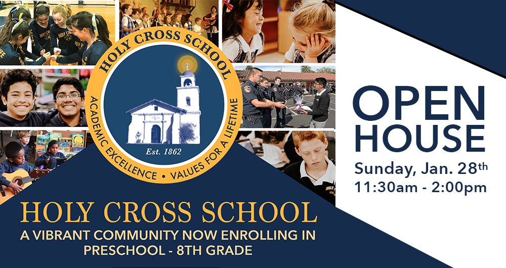 Home | Holy Cross School | Private Catholic School | Santa