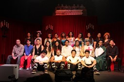 Sm Pippin Cast And Teachers 2014